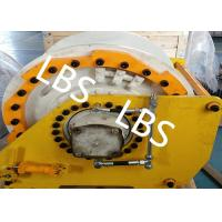 China Wire Rope Hydraulic Towing Marine Winch With Lebus Groove Drum wholesale
