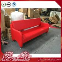 China Waiting area seating cheap waiting room bench chairs barber shop waiting benches 3-seater wholesale