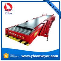 China High Quality Telescopic Belt Conveyors for loading offloading 20' & 40' containers on sale