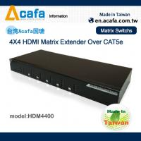 China 4 in 4 out Matrix HDMI 1080P  Switch Extender over IP with RS232 and IR wholesale