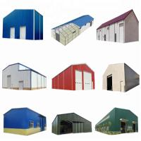 China SGS Passed Steel Frame Prefabricated Houses Construction Structural Workshop wholesale