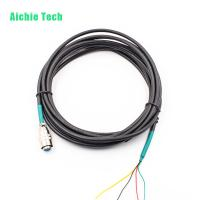 2P 30 5P 6P 4pin aviation wire cable with 4 pin Female Aviation Connector