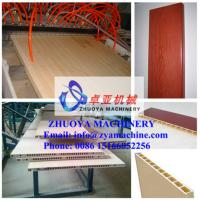China WPC Wood Plastic Door Panel Profile Production Line (1000mm) wholesale