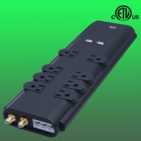 China 3000Joules home office surge protector /suppressor, phone fax coaxial protected wholesale