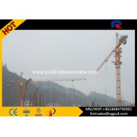 Quality Large External Climbing Building Tower Crane Lifting Capacity 6t Electric Switch for sale