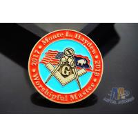 China Lightweight Coast Guard Challenge Coins , Personalized Military Coins Eco Friendly wholesale