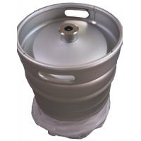 China Silver Color Euro Standard 1 2 Keg 50L Capacity 1.5 And 2mm Thickness wholesale