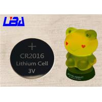 China Prime High Capacity CR2016 Button Batteries Durable For Toy Light wholesale