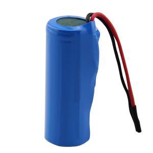 China 18500 MSDS 1400mAh Li Ion 3.7 V Battery IEC62133 wholesale