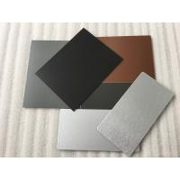 China 3 Coats PVDF Aluminum Composite Panel Boards High Intensity For Interior Wall wholesale