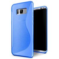 China S - Line Opaque Rubber Soft TPU Matte Custom Cell Phone Covers For Samsung S8 wholesale