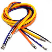 Buy cheap 2m Wire Rope Assembly , Colorful Flexible Plastic PVC Tubing Steel Wire Cable with Eye Terminal from wholesalers