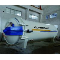 China Composite Autoclave with limit block and safety valve and interlock wholesale