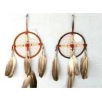 China Dream Catcher, Made of Feather and Metal Ring, Suitable for Promotional Gifts wholesale