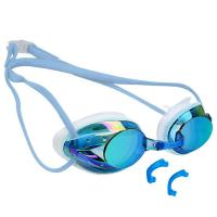 China Waterproof Silicone Adult Racing Swimming Goggles For Competition wholesale