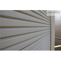 China Deep Grooved Shape Exterior Wall Panels 30mm Thickness With Frost - Resistance wholesale
