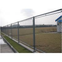 China Hot Dipped Galvanized Steel Wire Fencing , Residential Metal Chain Link Fence wholesale