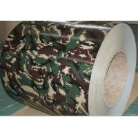 China Camouflage Colour Coating Prepainted Steel Coils PPGI For Typewriter / Refrigerator on sale