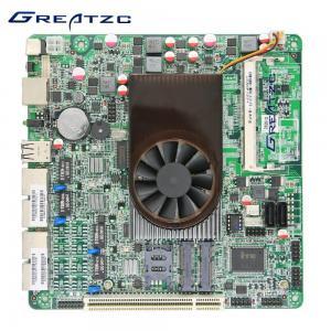 China CPU Intel Atom D525 1.8ghz Onboard Processor Motherboard 4 Quad Intel GMA 3150 wholesale