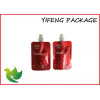 Wholesale Red Printing Spout Pouches Popular Spouted Pouches Packaging from china suppliers