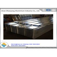 1050 1060 Corrugated Aluminum Panels Embossed Aluminum Ridge Tile YX24-210-840