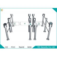 China Automatic Turnstile Supermarket Swing Gate Disabled Access Turnstile wholesale