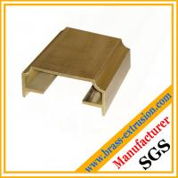 solid copper alloy extruded sections profiles for suppliers for building and decoration