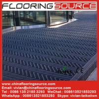 China Building outdoor entrance floor matting Scrape Dirt Non Slip for high traffic entrance wholesale
