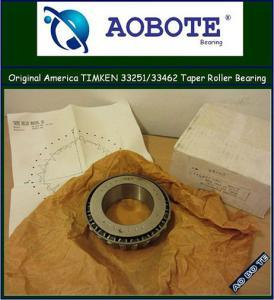 China Automotive engineering ISO 9001 accreditationTapered Roller Bearing 33251 / 33462 wholesale