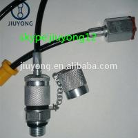 Wholesale Hydraulic Pressure Test Fittings G1/8 Cone Dn3 Test Hose from china suppliers