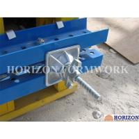 China Natrual Colour Shuttering Tie Rod Slope Plate Fastening Inclined Formwork wholesale