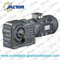 1 5hp 1 1kw k series helical bevel gear reducers helical for K series motor specs