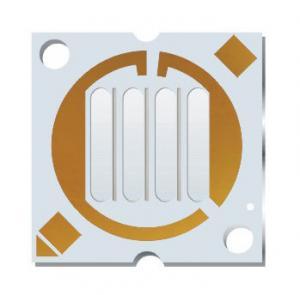 China 2 OZ Copper Aluminium PCB LED Circuit Board White Solder Mask wholesale