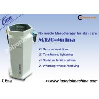 China Acne / Wrinkle Removal , Face Lifting Needle Free Mesotherapy Machine wholesale