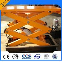 China Multifunctional Electric Scissor Lift With Fixed Hydraulic Lift Table wholesale
