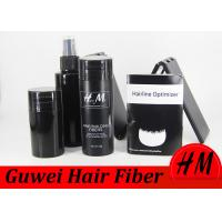 Multi Colored  Hair Building Fiber Powder Bald Head Hair Growth Products For Men