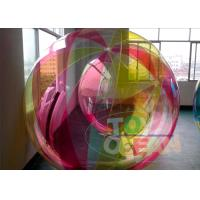 China Yellow Transparent Inflatable Walking Ball Commercial For Beach wholesale