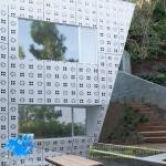 China Punching pattern aluminum single board outdoor aluminum curtain wall perforated aluminum plate profile decoration wholesale