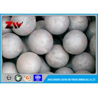 Buy cheap Mineral Processing forged steel grinding balls for Iron mining HRC 60-68 from wholesalers