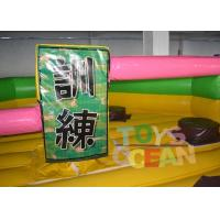 Quality Single Stick Inflatable Interactive Games Inflatable Wipeout Sport Game Meltdown Ride for sale