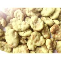 China Customized Coated Garlic Broad Bean Chips Chilli / Spicy Flavor wholesale