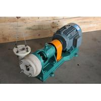 China FSB Electric Industrial Centrifugal Pumps , Fluorine Plastic alloy Chemical Pump on sale