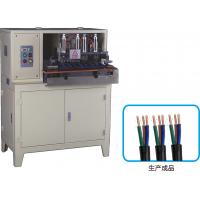 Buy cheap PVC Plug Insertion Machine , 2 Core And 3 Core Electrical Cable Stripper Cutting Machine from wholesalers
