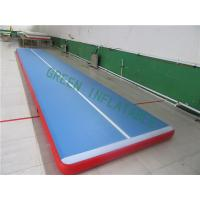 China Professional Air Tumble Track For Sporter Training Environmental Friendly wholesale