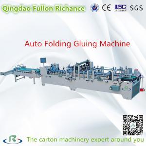 China Automatic Pre-Fold Corrugated Carton Box Folder  Gluer For Carton Box Making wholesale