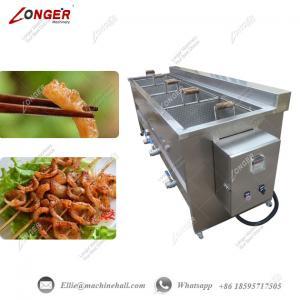 China Continuous Pork Skin Fryer Machine|Pork Rinds Frying Machine |Automatic Pig Skin Frying Machine|Pork Skin Fryer Machine on sale