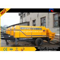 China 13 Mpa Outlet Pressure Electric Concrete Pump Filling Height 1400mm wholesale