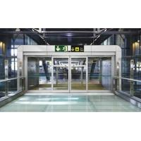 Quality Aluminium Curved Sliding Door Soundproof / Automatic Slide Door With Motor for sale