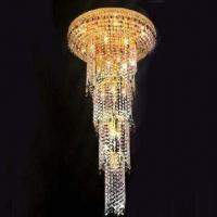 China Crystal Chandelier with 26 Lights, Measures 600 x 1,150mm wholesale