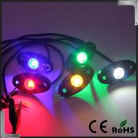 Buy cheap RGB Bluetooth Control 9-32V DC Led Rock Light , IP68 Jeep Off Road Rock Lights from wholesalers